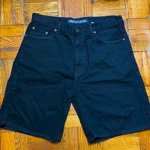 Vintage Nautica Jeans black shorts size: 36